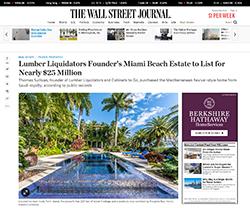 Roberto Dangond at Wall Street Journal Magazine