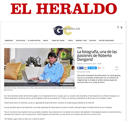 About Roberto Dangond at El Heraldo News